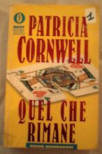 """DALLA MIA COLLEZIONE PATRICIA CORNWELL  : """" QUEL CHE RIMANE"""""""