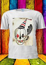 Joker Skull Hat Skeleton Tumblr T-shirt Vest Tank Top Men Women Unisex 1509