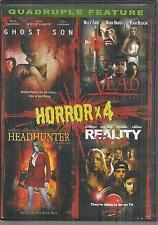 Horror x 4 DVD, 2011 Ghost Son/ Vlad/ Headhunter/ Reality Kills