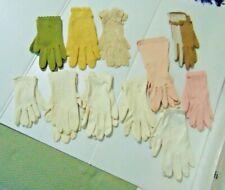 Lot of 11 Ladies Gloves