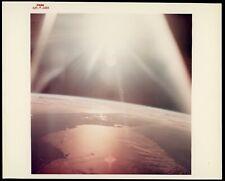 Apollo 7 1968 NASA Type 1 Original Photo Red Letter A Kodak Paper *Sunrise FLA*