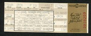 Original 1987 Beastie Boys unused concert ticket Capitol Theatre License To Ill