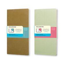 Moleskine Chapters Notizhefte Slim Pocket - 2er-Set gepunktet