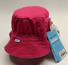 eed23a12 Toddler Organic Cotton Reversible Bucket Sun Hat Hot Pink/lt Pink New