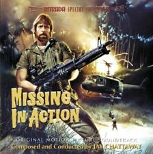 MISSING IN ACTION CD Jay Chattaway SOLD OUT RARE SOUNDTRACK NEW