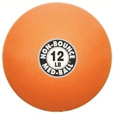 POWER SYSTEMS SET of 2 Non-Bounce MEDICINE BALL 25 lb, 30 lbs RED & PURPLE color