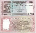 BANGLADESH 50 TAKA 2011 P 56a LOTE DE 5 BILLETES