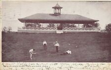 DES MOINES IA – Playing Golf at Waveland Park – udb – mailed 1908
