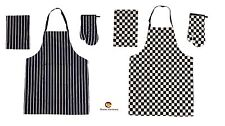 3 Piece Apron Oven Mit & Tea Towel Set Available in 2 Designs