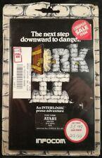 Zork II Atari 400/800 Disk Complete Sealed