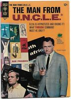 Man From UNCLE #6 FN+ Gold Key Comics 1966 Dick Wood & Mike Sekowsky