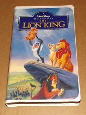 Disney's The Lion King (VHS, 1995) Masterpiece Edition