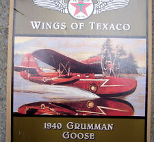 "WINGS OF TEXACO ERTL PLANE   ""1940 Gruman Goose"""