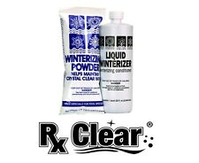 Rx Clear Swimming Pool Winter Chlorine Free Closing Kit Up To 10,000 Gallons