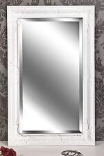 Spiegel Wandspiegel weiß  Barock NELE 80 x 50 cm