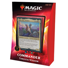 Magic: The Gathering Timeless Wisdom Ikoria Commander Deck   100 Card Deck  
