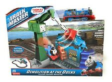 Track Master THOMAS & Friends Demolition At The Docks Playset Sealed NEW