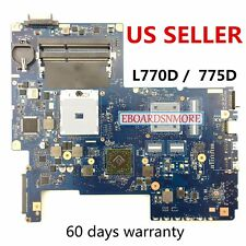 """H000034200 Toshiba Satellite L775 L770D L775D Motherboard 08N1-0N93J US Loc,""""A"""""""