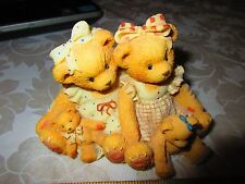 Cherished Teddies Allison And Alexandria #127981 Two Friends Mean Twice the Love
