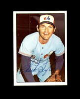 Chuck Taylor Hand Signed 1975 SSPC Montreal Expos Autograph
