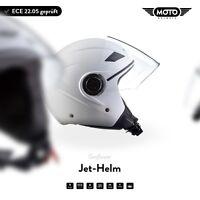 Roller-Helm Motorrad-Helm Jet-Helm Mofa Scooter! MOTO U52 - Matt W. XS S M L XL