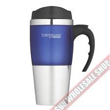 100% Genuine! THERMOS 450ml ThermoCafé Stainless Steel Travel Mug Blue!