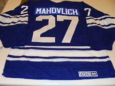 Toronto Maple Leafs Hockey Vintage Jersey M F Mahovlich
