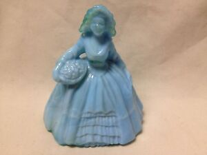 """BOYD GLASS COLONIAL DOLL-MARKED WITH A """"R""""-CHOICE OF COLORS-PRICE REDUCED!!"""