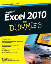 Excel 2010 for Dummies® ' Harvey, Greg trackable freepost australia