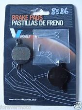 PASTIGLIE FRENO KEVLAR BICI /MTB /BICICLETTA PER MAGURA JULIE (COD:8586)