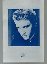ELVIS ARON PRESLEY silver box-set RCA promo booklet with reservation certificate
