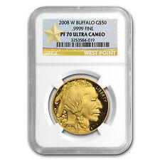 2008-W 1 oz Proof Gold Buffalo PF-70 NGC - SKU #61900