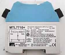 MTL Instruments MTL7710+ Shunt-Diode Safety Barrier
