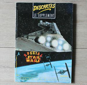 Descartes Le Supplément Volume 1 Spécial Star Wars Jdr Jeu De Role