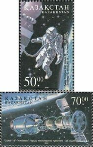 kazakhstan 342-343 (complete issue) unmounted mint / never hinged 2001 Study of
