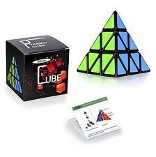 Rubiks Cube Pyramid Rubix Games Magic Puzzle Kid Brain Teasers Twist Speed Toys
