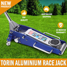 NEW Torin Aluminium Trolley Race Jack 1.5 Ton With Single Piston Pump Saftey