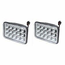 2PC 4X6 inch LED Headlights Sealed Beam Headlamp For FREIGHTLINER FLD120 112 FLD