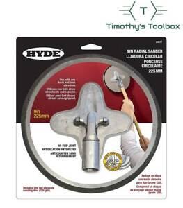 "Hyde 9"" Radial Sander Head 09977- No Flip Design"