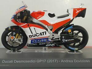 Moto GP miniature 1/18 Altaya Ducati Desmosedici GP17 2017 Andrea Dovizioso