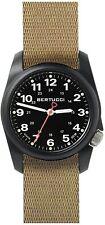 Bertucci 10502 A-1R Field Comfort Men's Watch Khaki 36mm Fiber Reinforced Polyc