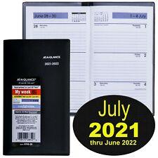At A Glance Ay48 00 July 2021 Thru June 2022 Academic Year Weekly Pocket Planner