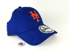 New Era New York Mets Magnetic Badge 9Forty Curve Dad Hat Royal Blue