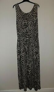 Simply Be Capsule Animal Print Maxi Dress Size 14 Worn Once