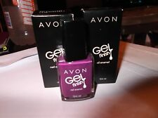 AVON NAIL POLISH GEL FINISH PURPLICIOUS 12ML
