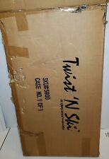 Twist N' Ski ExerScience NordicTrack Ski Exercise Cardio Machine with VHS Video