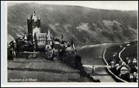 KOCHEM Cochem Mosel alte Postkarte um 1940 Burg Castle Ansichtskarte Postcard