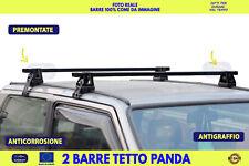 Barre portatutto portapacchi Fiat Panda Country Club tetto bagagli barra per kit