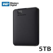 WD Elements 5TB Portable External Hard Drive Discos duros externos USB 3.0 Negro