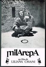 Milarepa un film de Liliana Cavani - 1973 - Dossier presse cinéma - 16 pages